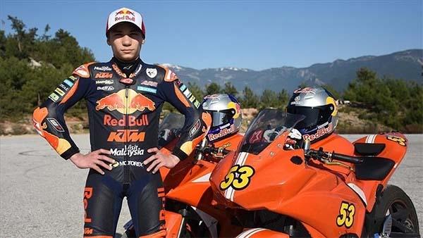 Milli motosikletçi Deniz Öncü yarın İspanya Grand Prix'sine 10. cepten başlayacak