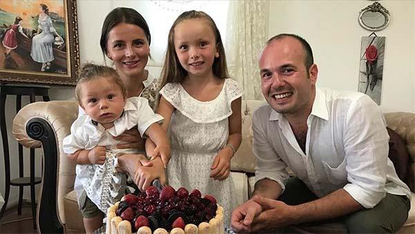 Yaşama tutunan Leo bebek ilk yaş gününü kutladı