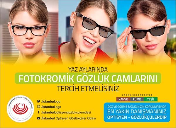 Fotokromik gözlükler hayatı kolaylaştırıyor
