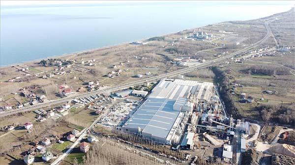 Kastamonu Entegre 600 milyon liralık Samsun yatırımını tamamladı
