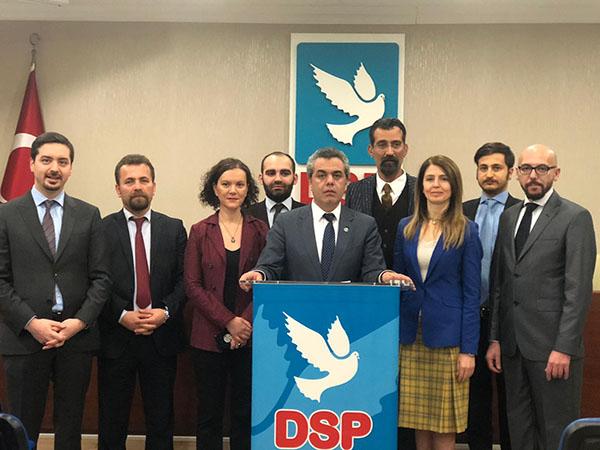 DSP belediye başkan adaylarını belirlemeye devam ediyor