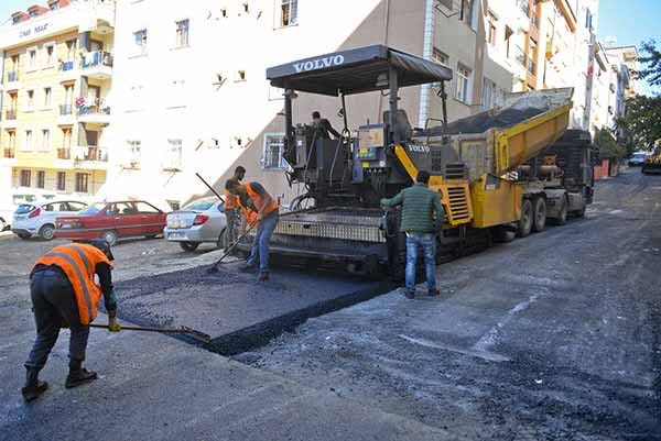 Cadde ve sokaklarda yol ve tretuvar işleri yaptırılacak
