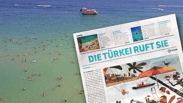 Almanya'dan 'Türkiye'ye tatile gidin' çağrısı