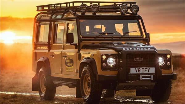 Klasik Land Rover Defender, Goodyear ile yeniden bir arada