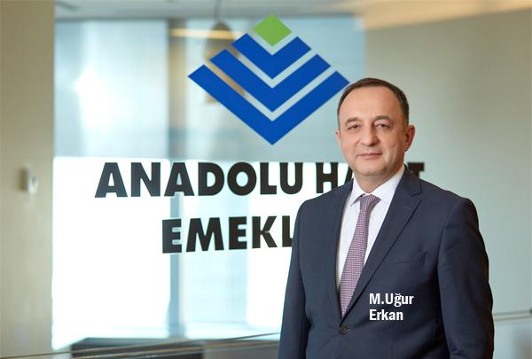 Anadolu Hayat Emeklilik'in aktif büyüklüğü 23 milyar TL'ye ulaştı