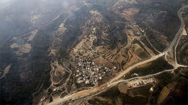 Orman yangınlarından etkilenen yerler için mücbir sebep hali ilan edildi