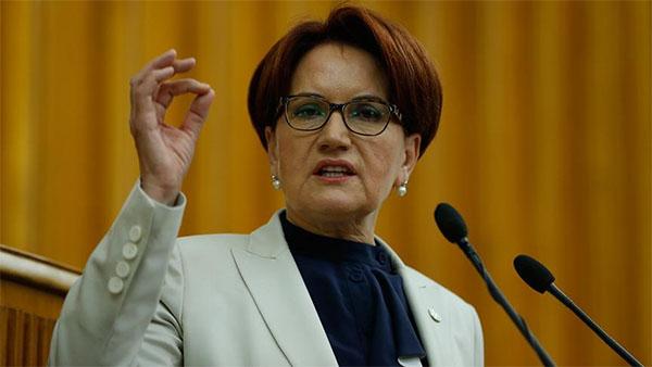 İYİ Parti Genel Başkanı Akşener: KDV'nin yüzde 18'den yüzde 10'a düşürülmesi gerekir