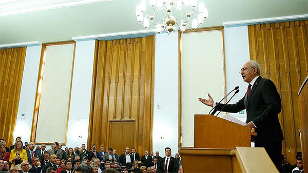 CHP Genel Başkanı Kılıçdaroğlu: Türkiye'ye adalet gelinceye kadar mücadele edeceğiz