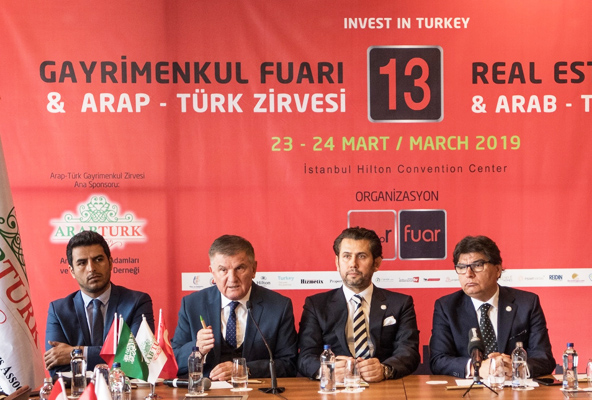 13. Gayrimenkul Fuarı ve Türk-Arap Gayrimenkul Zirvesi 23-24 Mart'ta İstanbul'da