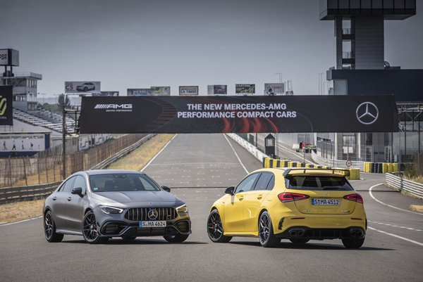 Mercedes'in en yeni AMG'leri Türkiye'de