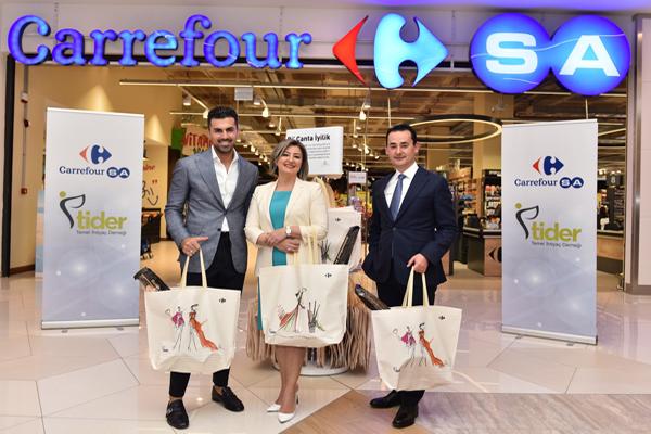 CarrefourSA'dan 'Bi Çanta İyilik'