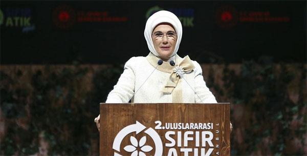 Emine Erdoğan'dan 'Geleceğe Nefes' kampanyasına destek