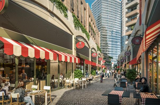 'Palladium Cadde Küçükyalı' dükkanları satışa çıktı