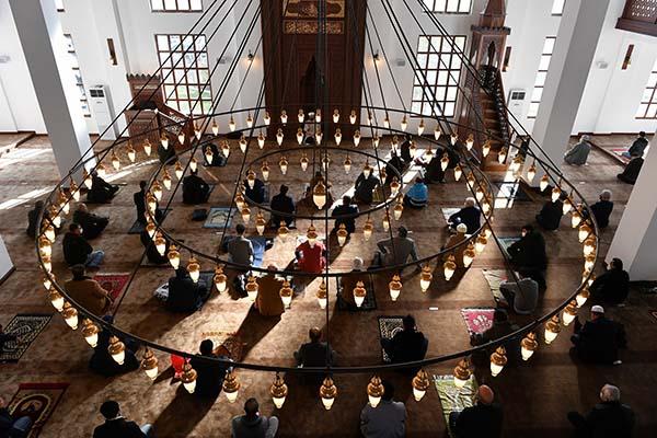 İbrahim Cevahir Camii Beylikdüzü'nde ibadete açıldı