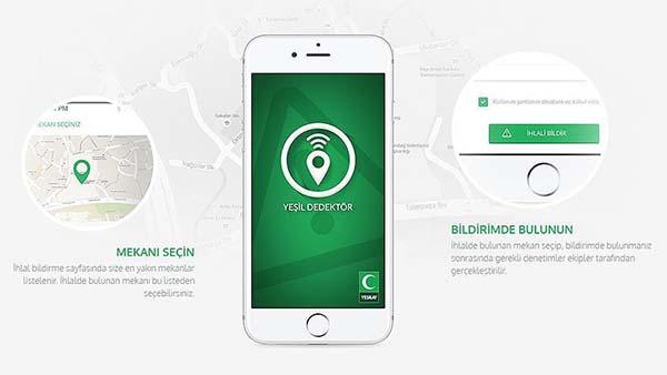 'Yeşil Dedektör' kullanıcıları 251 bine ulaştı