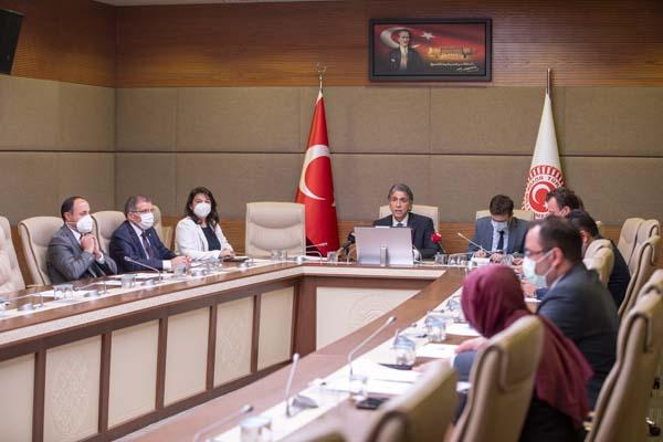 TBMM Müsilaj Sorununu Araştırma Komisyonu çalışma takvimini belirledi