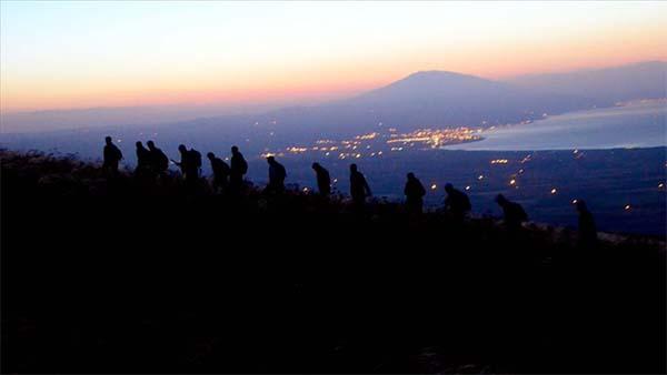 Dağcılar Nemrut'ta zirve yaptı