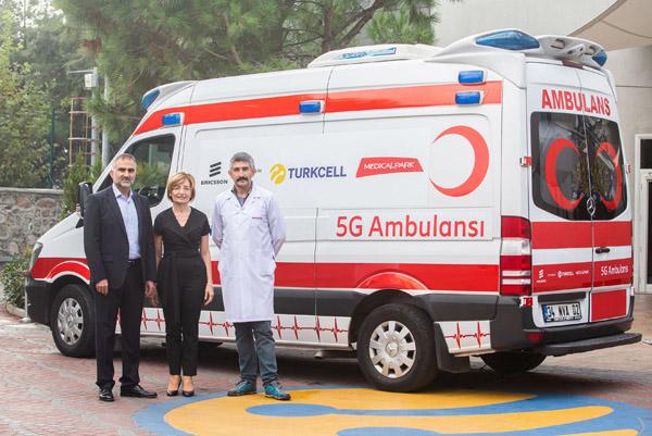 Turkcell'den sağlıkta 5G deneyimi