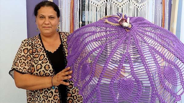 Mor renkli lavantalar üretici kadınlar için ek gelir kapısı oldu