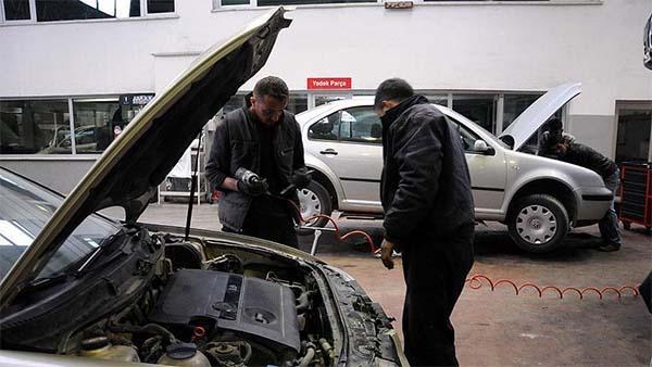 Araç bakım ve onarım hizmeti alınacak