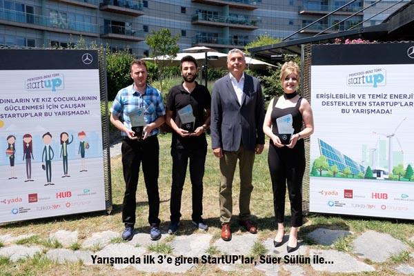 3 StartUP'a 150 bin TL ödül