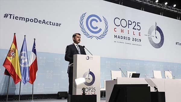Bakan Kurum: Türkiye iklim değişikliğiyle mücadelede daha fazlasını yapmaya kararlıdır