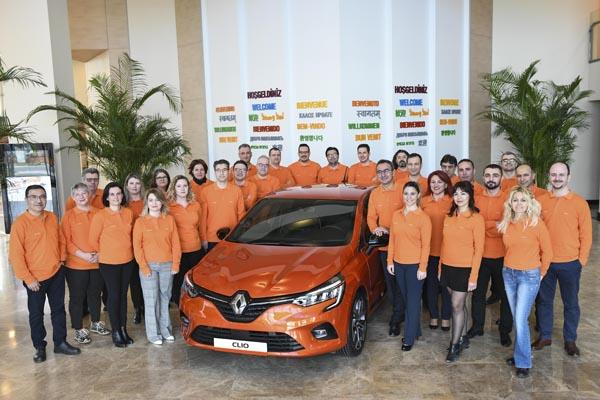 Yeni Renault Clio 5 Bursa'da görücüye çıktı