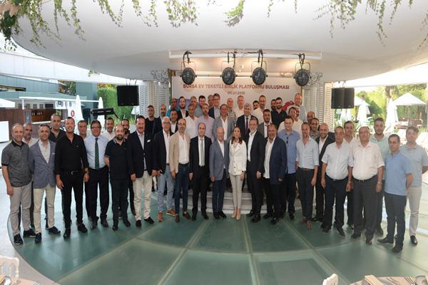 Bursa Ev Tekstili Birlik Platformu ilk toplantısını gerçekleştirdi
