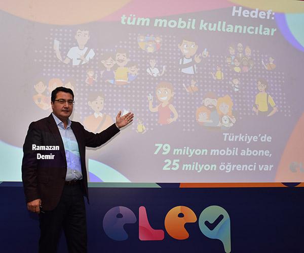 Türkiye'nin mobil canlı bilgi yarışması eleq yayına başladı