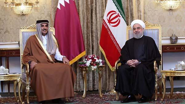 Katar Emiri Al Sani sürpriz ziyaretle Tahran'da