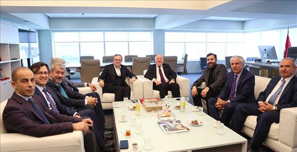 TGK'dan, BİK Genel Müdürü Duran'a ziyaret