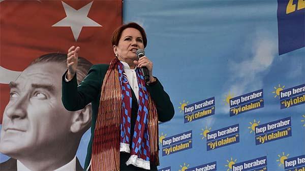 İYİ Parti Genel Başkanı Akşener: Doğru hizmet yapacak olan kazansın