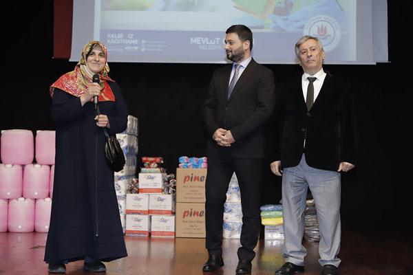 Kağıthane'deki tüm okullara temizlik ürünleri dağıtıldı