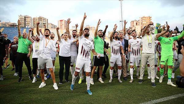 Hatayspor Süper Lig'e çıkmayı garantiledi