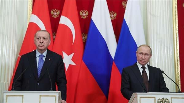 Cumhurbaşkanı Erdoğan ile Putin Dağlık Karabağ'ı görüştü