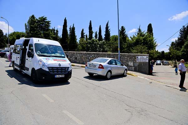 Maltepe Belediyesindenmezarlıklaraücretsiz servis