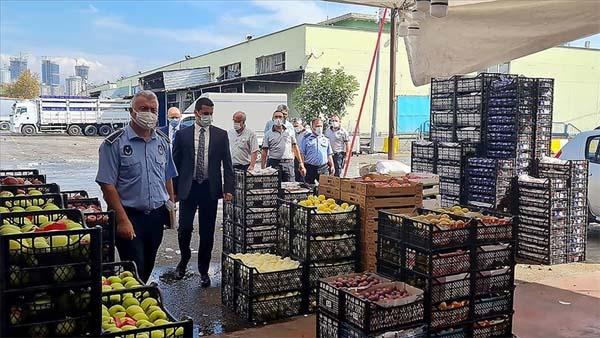 Ticaret Bakanlığından İstanbul'da eş zamanlı 'hal' denetimi