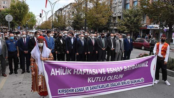 Ahiliğin başkenti Kırşehir'de 34. Ahilik Haftası kutlamaları başladı