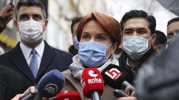 İYİ Parti Genel Başkanı Akşener: Örnek olmak açısından aşı oldum