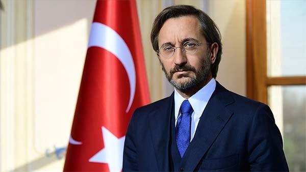 Cumhurbaşkanlığı İletişim Başkanı Altun, kendisini hedef alan HDP'ye tepki gösterdi