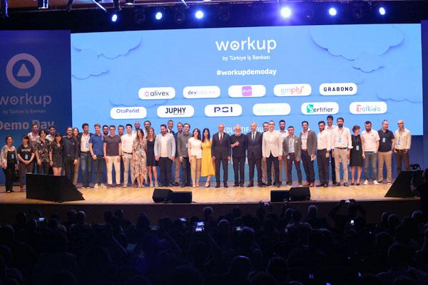 Workup'ta 11 başarılı girişim mezun oldu
