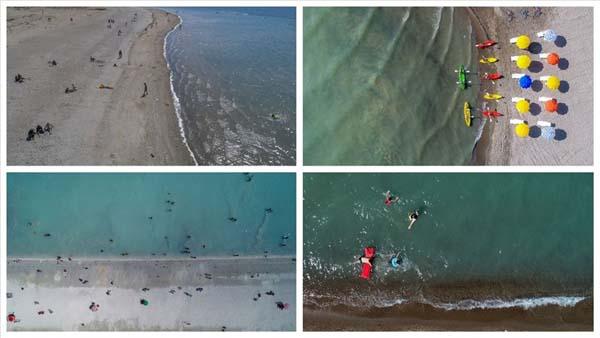 'Bozkırın plajları' deniz kıyılarını aratmıyor