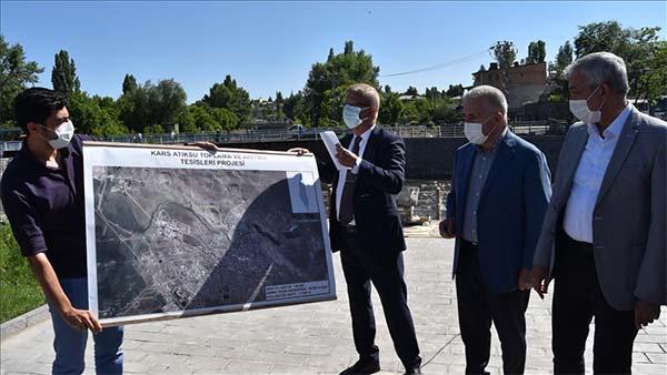 Kars Çayı Atıksu Toplama ve Arıtma Tesisleri Projesi'yle temizlenecek