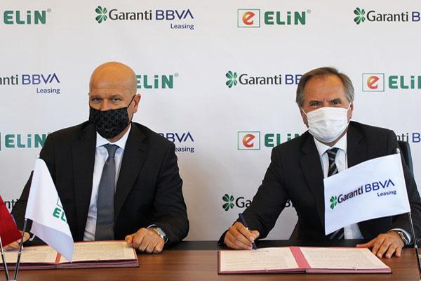 Garanti BBVA Leasing ve Elin Enerji iş birliği protokolü imzaladı