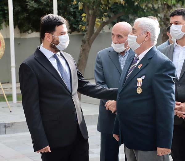 Kağıthane'de 19 Eylül Gaziler Günü törenle kutlandı