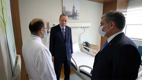 Erdoğan'dan 'Başakşehir Çam ve Sakura Şehir Hastanesi' paylaşımı