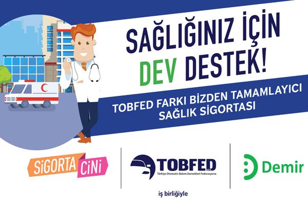 TOBFED üyelerine özel tamamlayıcı sağlık sigortası