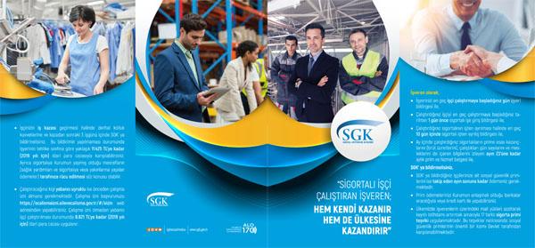 SGK'dan kayıt dışı istihdam bilgilendirmesi