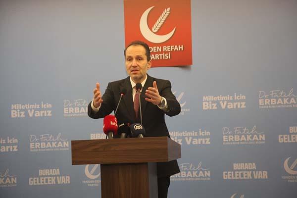 Fatih Erbakan: Asıl sorulması gereken128 milyar değil 1,2 trilyon dolardır