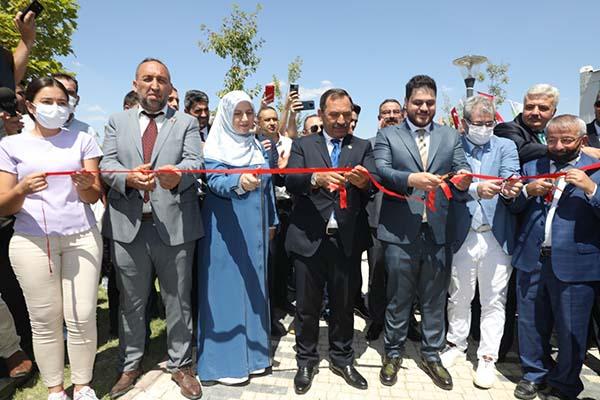 Etimesgut'ta Prof. Dr. Haydar Baş Parkı